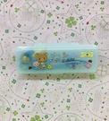 【震撼精品百貨】Rilakkuma San-X 拉拉熊懶懶熊~拉拉熊圓規附盒-藍#72366