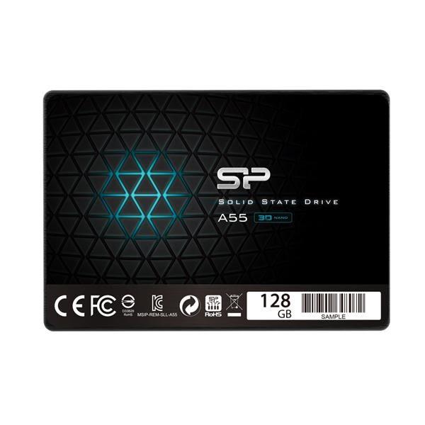 【綠蔭-免運】SP廣穎 A55 2.5吋SATA III 3D TLC 固態硬碟 128GB
