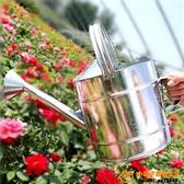 灑水壺不銹鐵皮家用澆菜澆花水壺澆水壺大容量超級品牌【桃子居家】