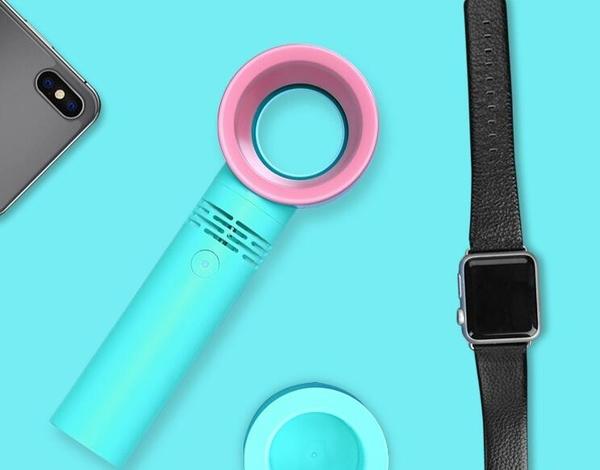 韓國zero 9小風扇迷妳無葉風扇USB手持風扇便攜充電 台灣專用110V現貨 聖誕節免運