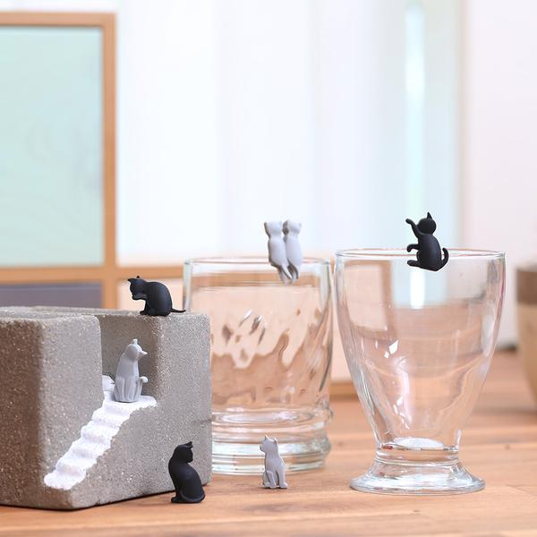 Gift concept貓咪茶包掛勾-生活工場