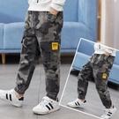 童裝男童工裝迷彩褲子2020春夏新款中大童寬鬆休閒褲兒童薄款長褲 滿天星