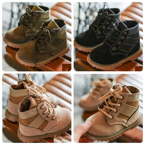 兒童馬丁軍靴 復古質感寶寶靴童鞋 (16-18cm) KL7718 好娃娃