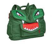 美國Bixbee3D動物童趣系列-英勇綠恐龍小童背包