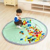 ◄ 生活家精品 ►【J30】兒童玩具收納袋(大) SAFEBET 便攜 迅速 整理 玩具墊 分類 牛津布 束口