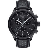 TISSOT天梭 CHRONO XL NBA 馬刺隊特別版計時錶-45mm T1166173605104