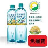 台鹽(台塩)海洋鹼性離子水600ml x1箱(24瓶)-免運直送【合迷雅好物超級商城】
