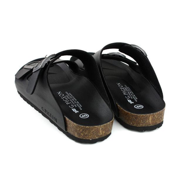 GP (Gold.Pigon) 阿亮代言 拖鞋 勃肯鞋 黑色 男鞋 M371-10 no051