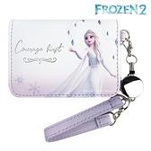 【SAS】日本限定 迪士尼 冰雪奇緣2 Elsa 艾莎 掛繩 伸縮 票卡夾 / 卡夾套 / 悠遊卡夾 / 證件夾套