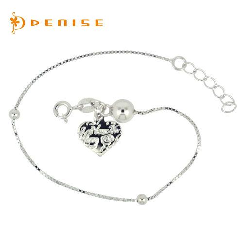 手鍊 925純銀「復刻愛情手鍊」銀飾禮品/情人禮物