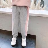 女童運動褲2020秋裝新款韓版兒童洋氣休閒加厚褲寶寶純棉加絨褲潮 元旦全館免運