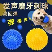 【雙11 大促】狗狗玩具發聲玩具球狗狗磨牙潔齒耐咬球金毛泰迪訓練玩具寵物用品
