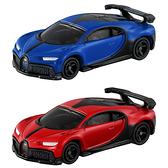 TOMICA 多美小汽車NO.037 布加迪 Chiron Pur sport+初回(2台一起賣)_TM037A4+TM037C3