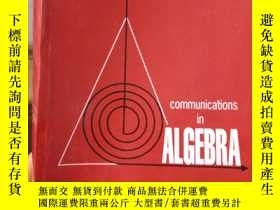 二手書博民逛書店communications罕見in algebra VOLUM