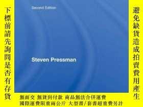 二手書博民逛書店Fifty罕見Major EconomistsY256260 Pressman, Steven Routled