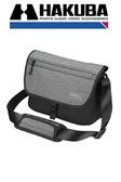 HAKUBA PLUSSHELL SLIM FIT02 SHOULDER BAG 側背包 黑灰 M 中【HA205909】M號