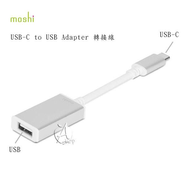 【A Shop】 Moshi 鋁製外殼 USB-C to USB 轉接線 電腦傳輸線