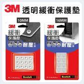 3M 透明緩衝保護墊 (圓型/方型)
