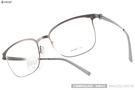 VYCOZ 光學眼鏡 DECK GUN-GUN (銀) 薄鋼工藝 休閒簡約款 # 金橘眼鏡