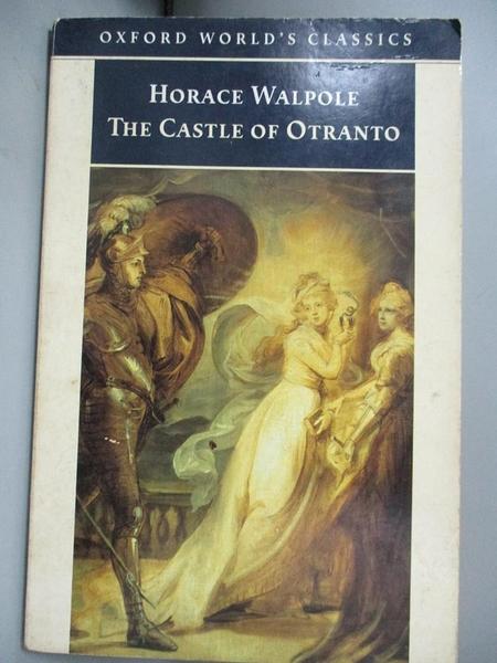 【書寶二手書T5/原文小說_NRU】The Castle of Otranto: A Gothic Story_Walp