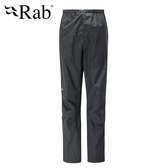 英國 RAB Downpour Pants 高透氣防水長褲 女款 黑 #QWF64