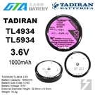 【久大電池】 TADIRAN TL-4934 TL-5134 TL-5934 3.6V 一次性鋰電 【工控電池】TA5