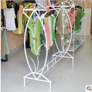 鐵藝 彩繪服裝 展示架 高品質
