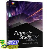 [8美國直購] 暢銷軟體 Pinnacle Studio 22 Ultimate - Advanced Video Editing and Screen Recording [PC Disc] [Old Version]