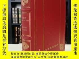 二手書博民逛書店Great罕見Expectation 《遠大前程》狄更斯Dickens 經典 franklin library 1