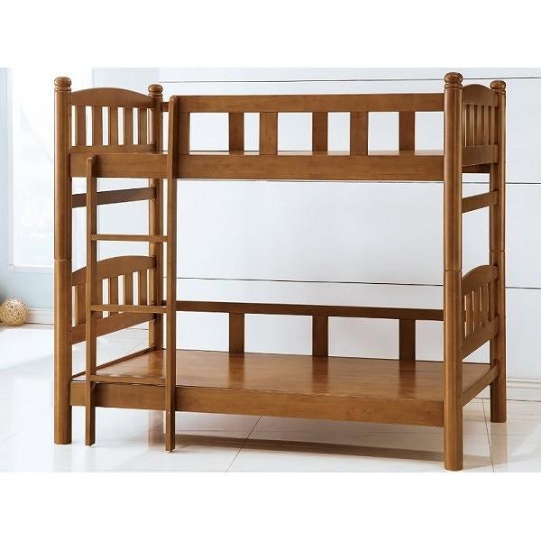 雙層床 PK-183-2 圓方3.5尺雙層床 (不含床墊) 【大眾家居舘】