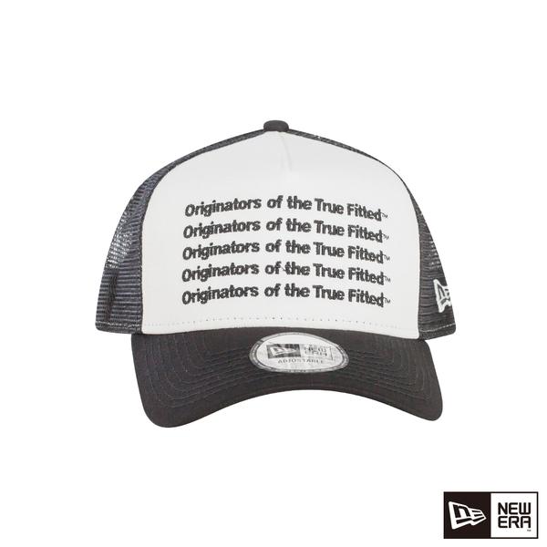 NEW ERA 9FORTY 940AF 卡車帽 REPEAT ORIGINATORS 白/黑 網帽