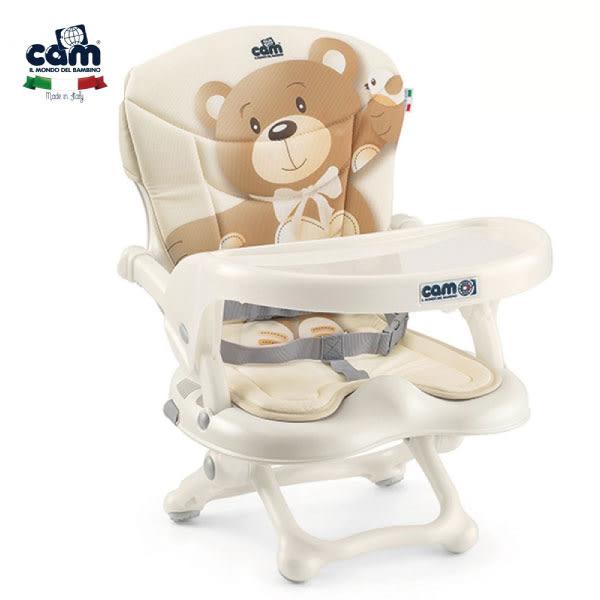 好食餐椅 cam可攜式輕便餐椅(小熊) B-S333-C219