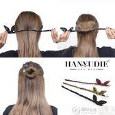 髮飾 盤發神器韓國造型器丸子頭百變懶人發飾品花苞頭蓬松淑女成人頭飾 居優佳品