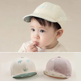 韓系刺繡小皇冠鴨舌帽 童帽 棒球帽 帽子 遮陽帽 防曬帽
