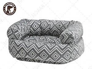 【SofyDOG】BOWSERS雙層極適寵物沙發床-閃電格紋-L