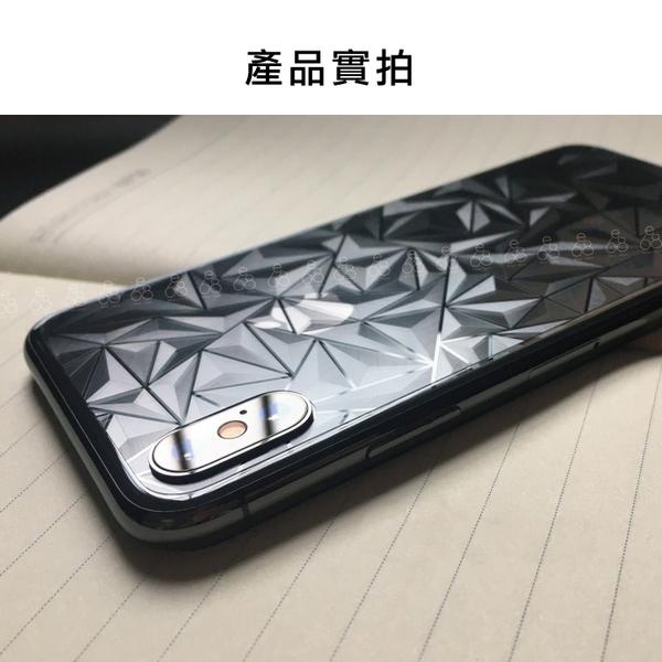 菱形紋 背貼 iPhone X 8 7 6 / 8Plus 7Plus 6Plus 透明 手機 背面 保護貼 背膜 貼 膜