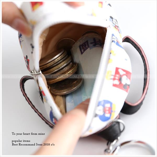 零錢包-迪士尼可愛造型背包零錢收納袋-共22色-A19190257-天藍小舖