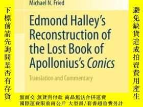 二手書博民逛書店Edmond罕見Halley s Reconstruction Of The Lost Book Of Apoll