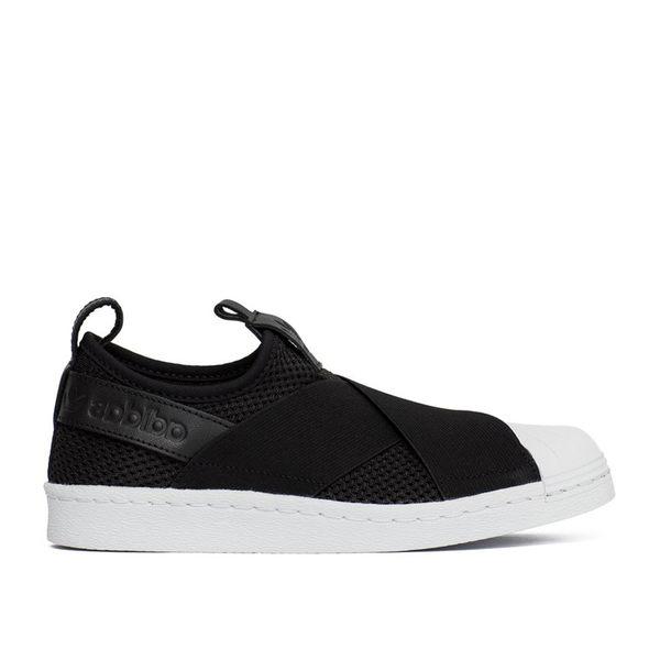 【GT】Adidas Originals W Superstar Slip On 黑 女鞋 現貨 板鞋 貝殼頭 繃帶鞋 運動鞋 休閒鞋 BY2884