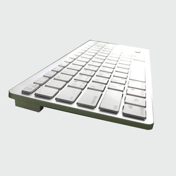 無線藍芽鍵盤手機平板安卓ipad air2韓文法文西班牙文德語俄語韓 ATFkoko時裝店