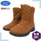 【ESKT 台灣 女 中筒雪鞋《棕》】SN195/靴子/雪靴/雪地行走/賞雪