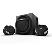 [富廉網] 福利品 JS JAVI 深沉海洋 H301 鈦黑色 三件式 2.1 重低音喇叭