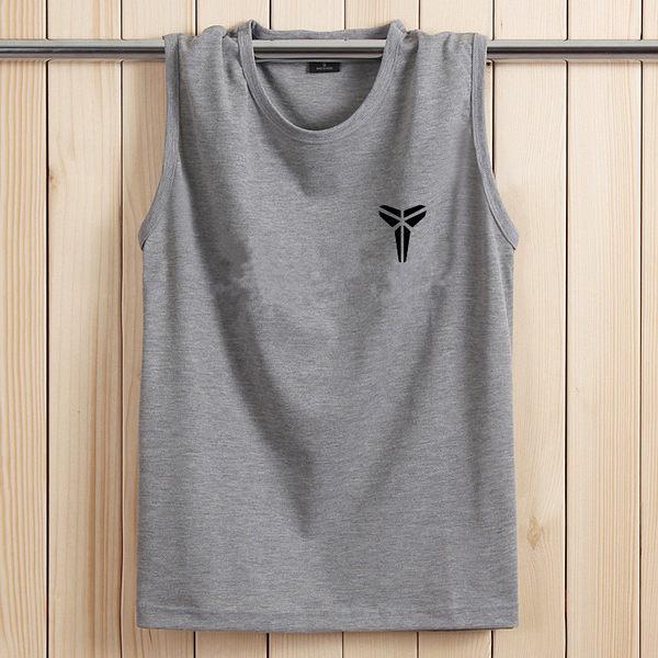 夏季純棉無袖T恤男士加肥加大號運動背心寬鬆大碼圓領坎肩打底衫