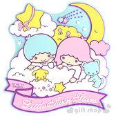 〔小禮堂〕雙子星 立體造型裝飾貼《藍.朋友.月亮.星星》輕鬆裝飾 4901610-08537