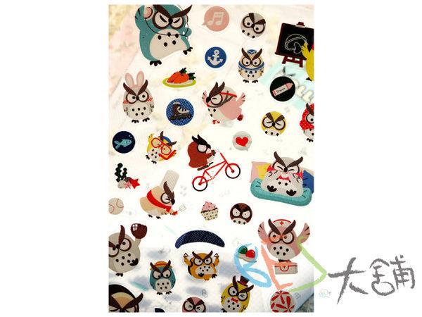 韓國│手帳│貼紙│多變的貓頭鷹V.3日記貼