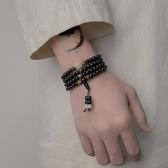 佛珠手串 手鏈男潮韓版簡約個性夜光十二生肖男士佛珠手串男生珠子串珠手飾 城市科技