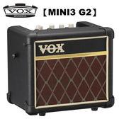 【非凡樂器】VOX MINI3 G2 可攜式類比吉他擴大音箱 經典款 / 贈導線 公司貨保固