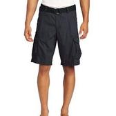 【Lee】男斜紋腰帶膝蓋下短褲(騎士藍色)