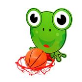 兒童卡通懸掛式籃球架籃球板玩具-Joybaby