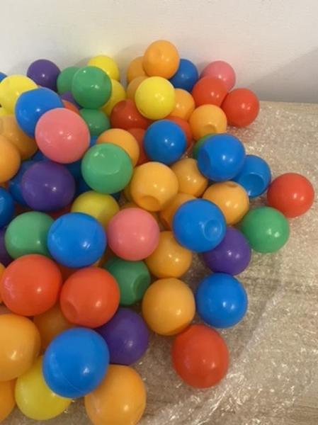 加厚海洋球波波球混色馬卡龍色球池球(約100顆/直徑6/@666-715)